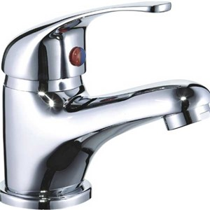 Express Arran Mono Basin Mixer with Clicker Waste