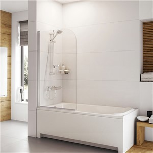 Inspirations Curved Bath Screen