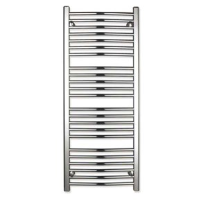 Express Curved Towel Rail 1357mm High x 500mm Long Output 386w Chrome