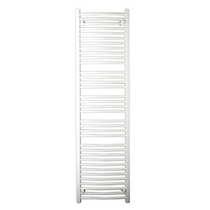 Express Curved Towel Rail 1537mm High x 500mm Long Output 663w White